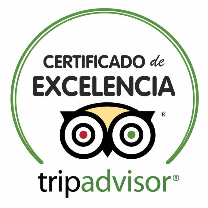 certificado de Excelencia de TripAdvisor